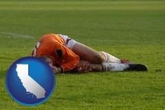california a sports injury