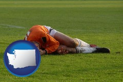 washington a sports injury